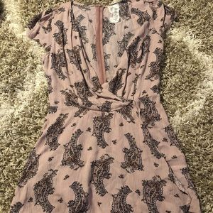 Lavender Romper from boutique in NY
